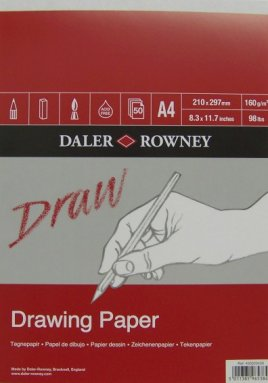 Draw drawing pad A3 (50)