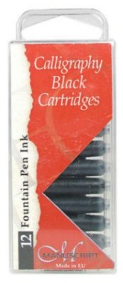 Black Ink Cartridges 12 pcs