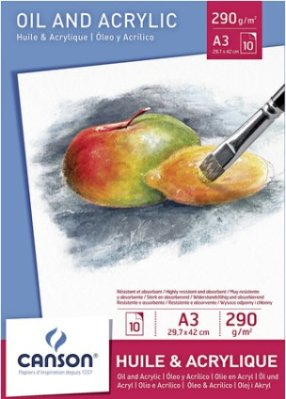 Oil ang Acrylic pad Canson A3 (10)