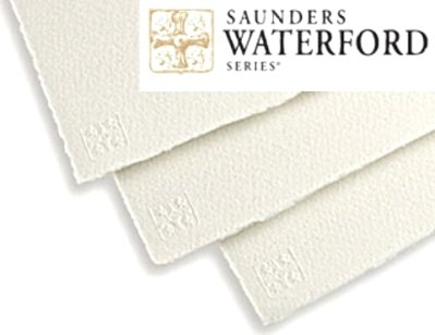 Watercolour paper Waterford 190g 10 pcs smooth